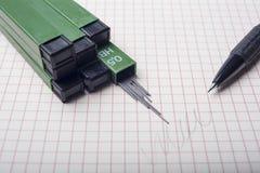 Lápis mecânico Fotos de Stock