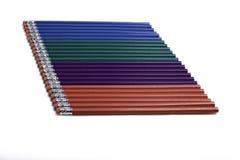 Lápis Multi-Colored Imagens de Stock