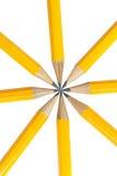 Lápis no branco Fotos de Stock