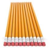 Lápis novos imagem de stock
