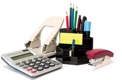 Lápis, penas, marcadores e outras coisas Fotografia de Stock Royalty Free