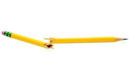 Lápis quebrado Imagem de Stock Royalty Free