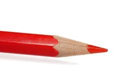 Lápis vermelho Fotografia de Stock