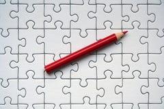 Lápis vermelho Imagem de Stock