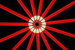Lápis vermelhos no círculo Foto de Stock Royalty Free