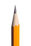 Lápiz amarillo Imágenes de archivo libres de regalías