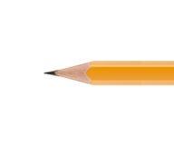 Lápiz amarillo afilado Fotografía de archivo