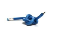 Lápiz azul marino Fotografía de archivo libre de regalías