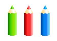 Lápiz coloreado Fotografía de archivo libre de regalías