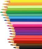 Lápiz coloreado Fotos de archivo libres de regalías
