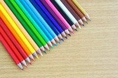 Lápiz coloreado Imagenes de archivo