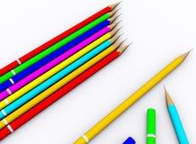 Lápiz del color Imagenes de archivo