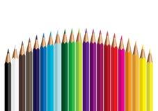 Lápiz del color ilustración del vector