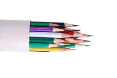 Lápiz del color Imágenes de archivo libres de regalías