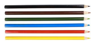 Lápiz del color fotografía de archivo libre de regalías