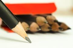 Lápiz del grafito Imagen de archivo libre de regalías