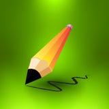Lápiz del vector Foto de archivo libre de regalías