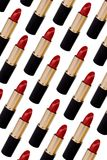 Lápiz labial rojo Fotografía de archivo