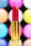 Lápiz labial rojo Imagen de archivo libre de regalías