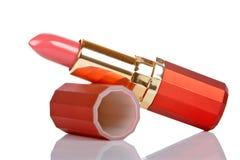 Lápiz labial rojo Imágenes de archivo libres de regalías
