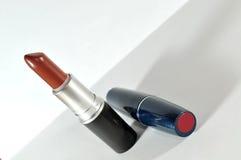 Lápiz labial rojo Fotos de archivo libres de regalías