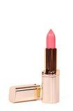 Lápiz labial rosado Imagen de archivo libre de regalías