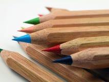 Lápiz-Pila coloreada Fotografía de archivo