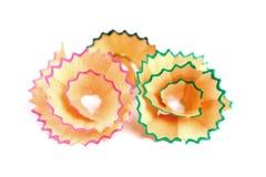 Lápiz que afeita las flores Fotografía de archivo