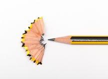 Lápiz y sharperner del lápiz Fotografía de archivo