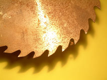 Lâmina de serra Foto de Stock Royalty Free