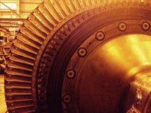 Lâmina de turbina Imagens de Stock Royalty Free