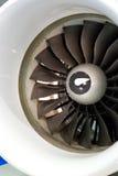 Lâminas de turbina Imagem de Stock