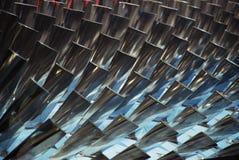 Lâminas de turbina Fotos de Stock Royalty Free