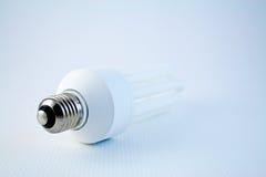 Lâmpada 2 da poupança de energia imagem de stock
