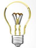 lâmpada 3d Foto de Stock Royalty Free