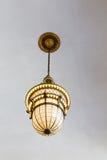 Lâmpada antiquado do teto Imagens de Stock Royalty Free