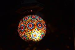 Lâmpada autêntica do otomano Imagens de Stock