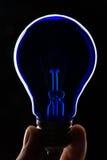 Lâmpada azul Fotos de Stock