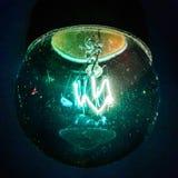 Lâmpada azul Imagem de Stock Royalty Free