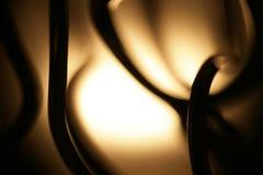 Lâmpada com detalhes do fio Fotografia de Stock