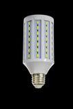 Lâmpada conduzida eficaz na redução de custos Foto de Stock Royalty Free