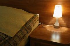 Lâmpada da cama Imagem de Stock