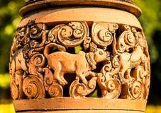 Lâmpada da cerâmica Foto de Stock