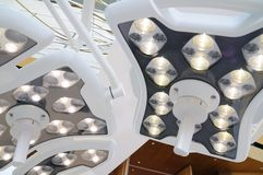 Lâmpada da cirurgia Foto de Stock Royalty Free