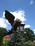 Lâmpada da coruja Foto de Stock Royalty Free