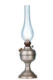 Lâmpada da gasolina no branco Fotografia de Stock Royalty Free