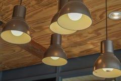 Lâmpada da iluminação imagens de stock