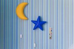 Lâmpada da noite Imagens de Stock