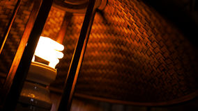 Lâmpada de bambu Imagens de Stock Royalty Free