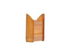 Lâmpada de bambu isolada Imagens de Stock